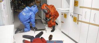 Unfall im Chemielabor